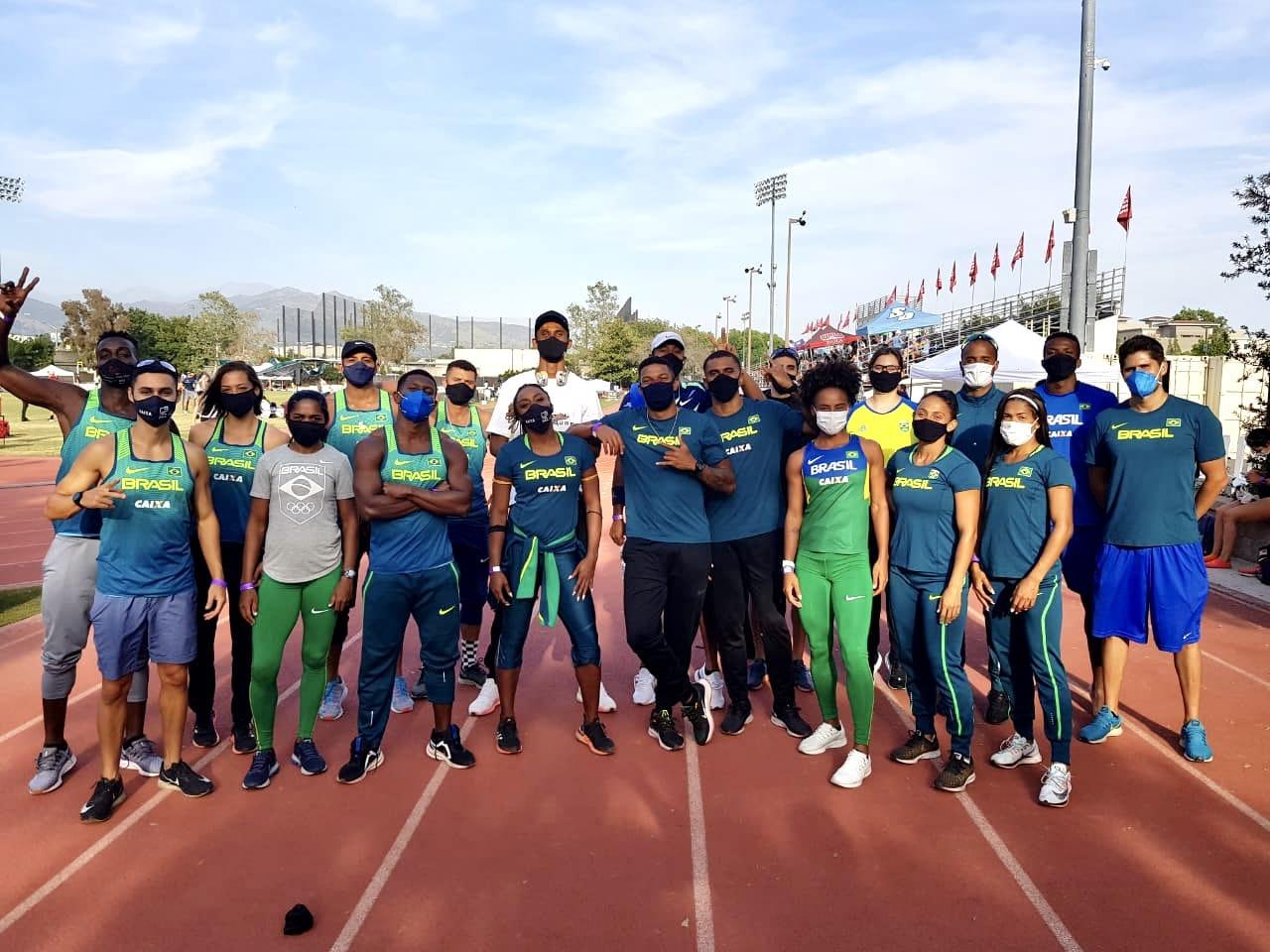 atletismo seleção brasileira Estados Unidos