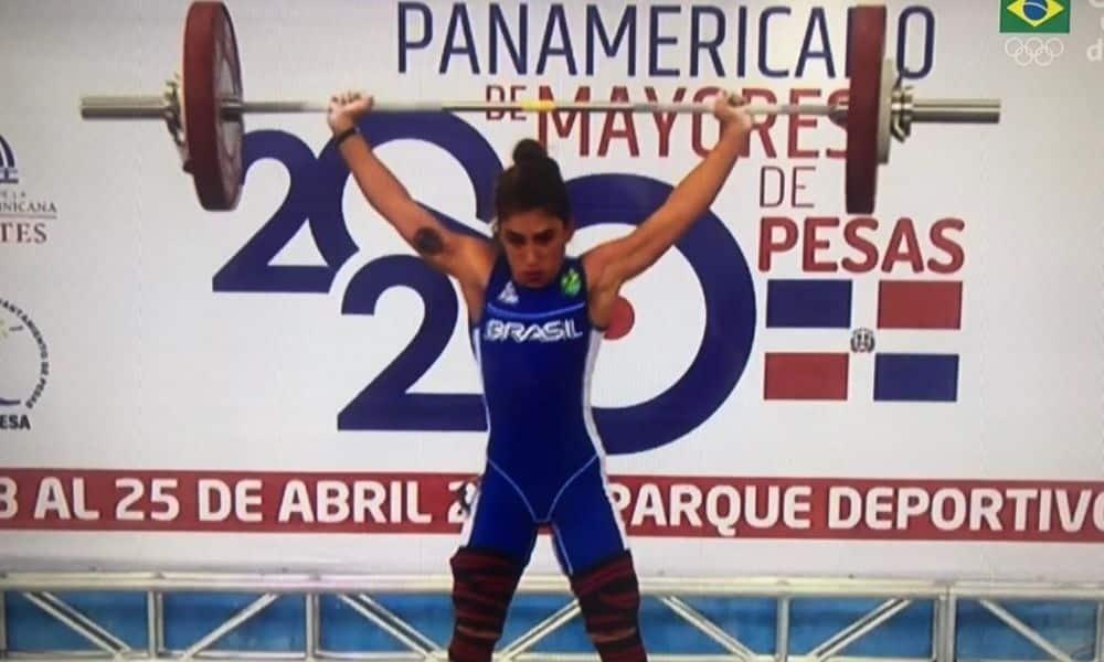Nathasha Rosa - levantamento de peso - Olimpíada de Tóquio 2020