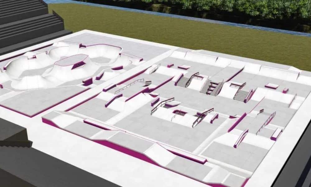 pistas do skate para os jogos olímpicos de tóquio-2020