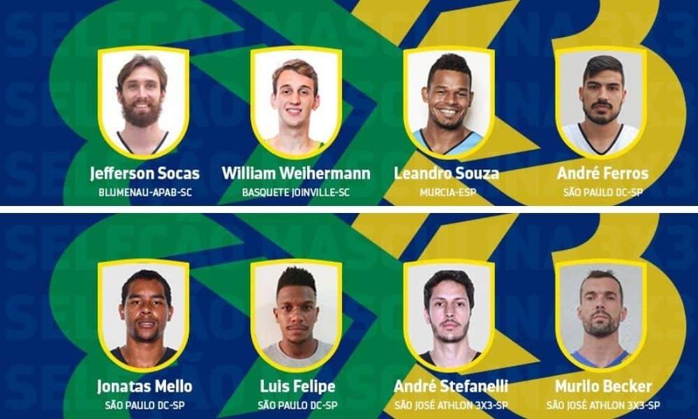seleção brasileira de basquete 3x3 masculina
