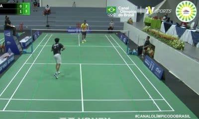 ygor coelho brian sarmiento campeonato pan-americano de badminton