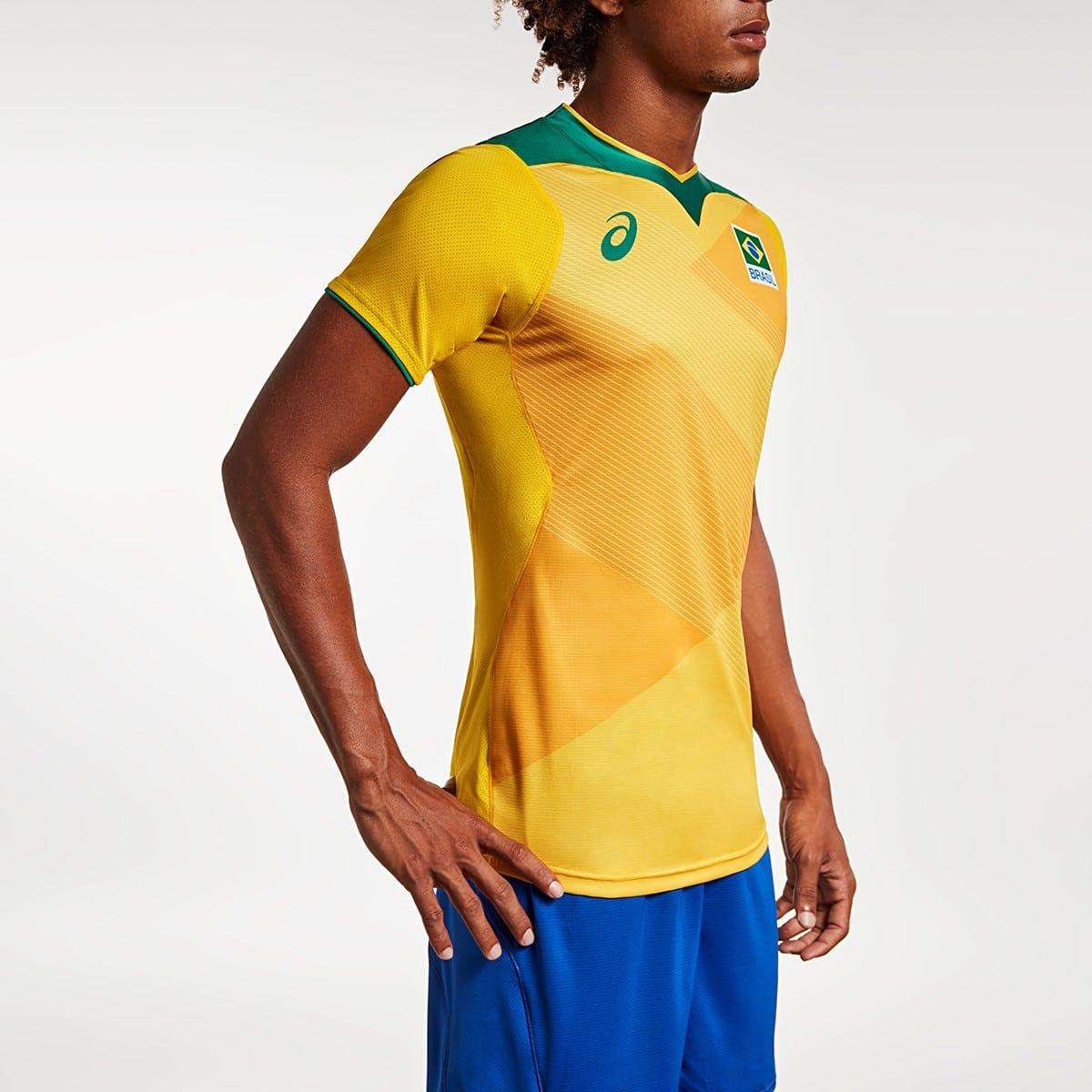 uniforme da seleção brasileira de vôlei para os jogos olímpicos de tóquio