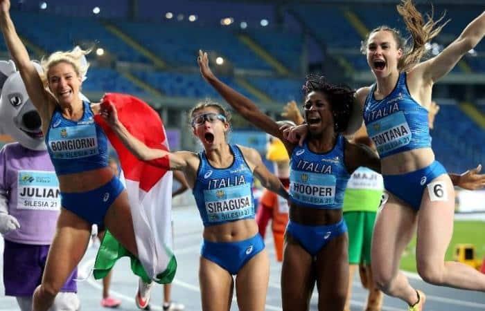 4x100m da Itália