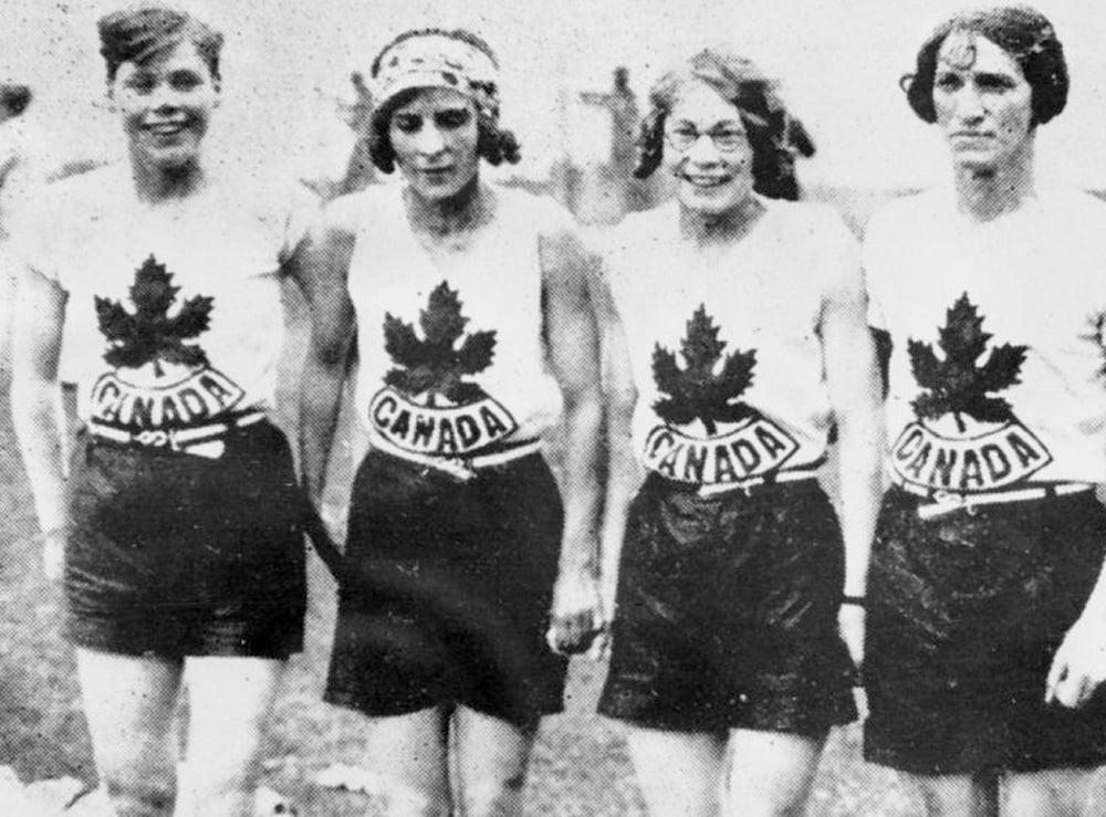 4x100m do Canadá