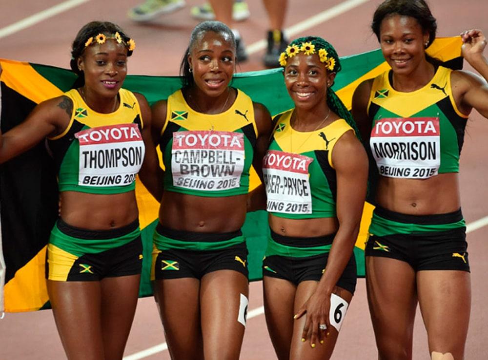 4x100m da Jamaica