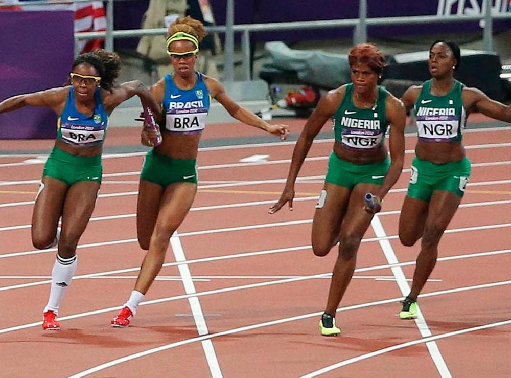 4x100m em Londres-2012