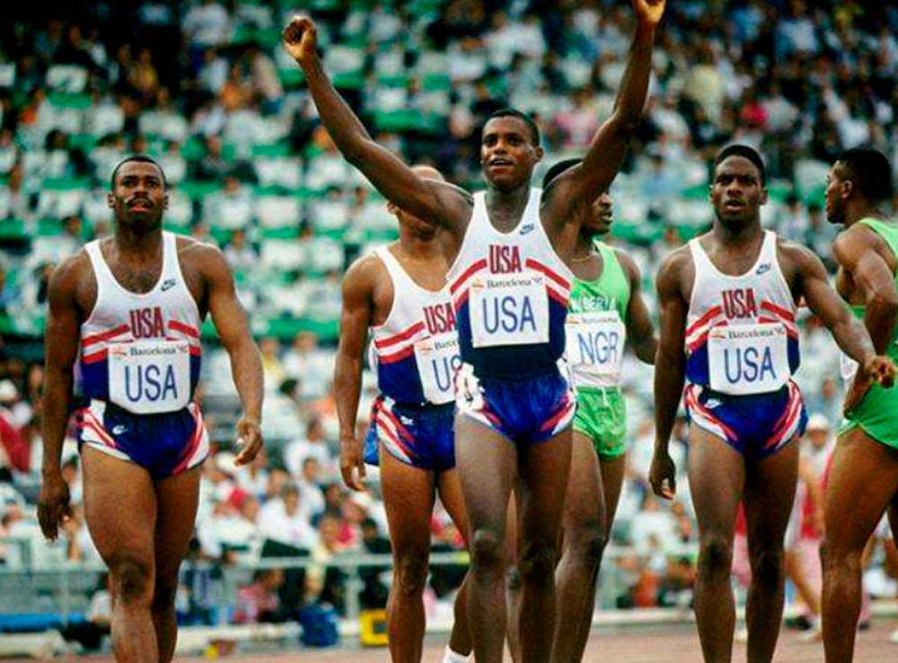 4x100m dos Estados Unidos em 1992