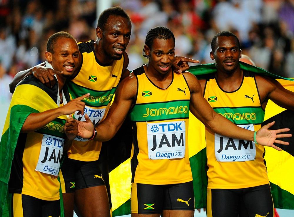 4x100m da Jamaica em 2016