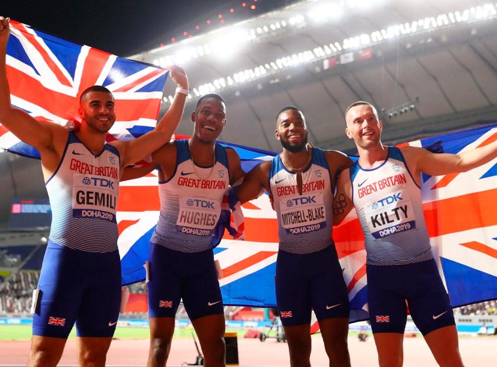 4x100m da Grã-Bretanha