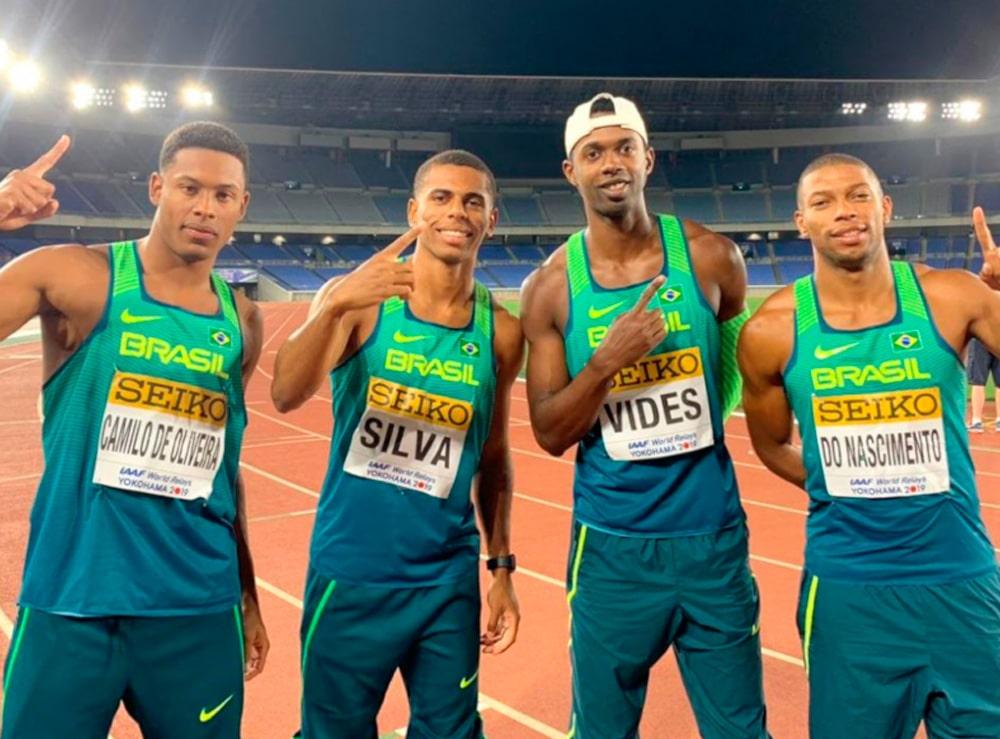 4x100m do Brasil
