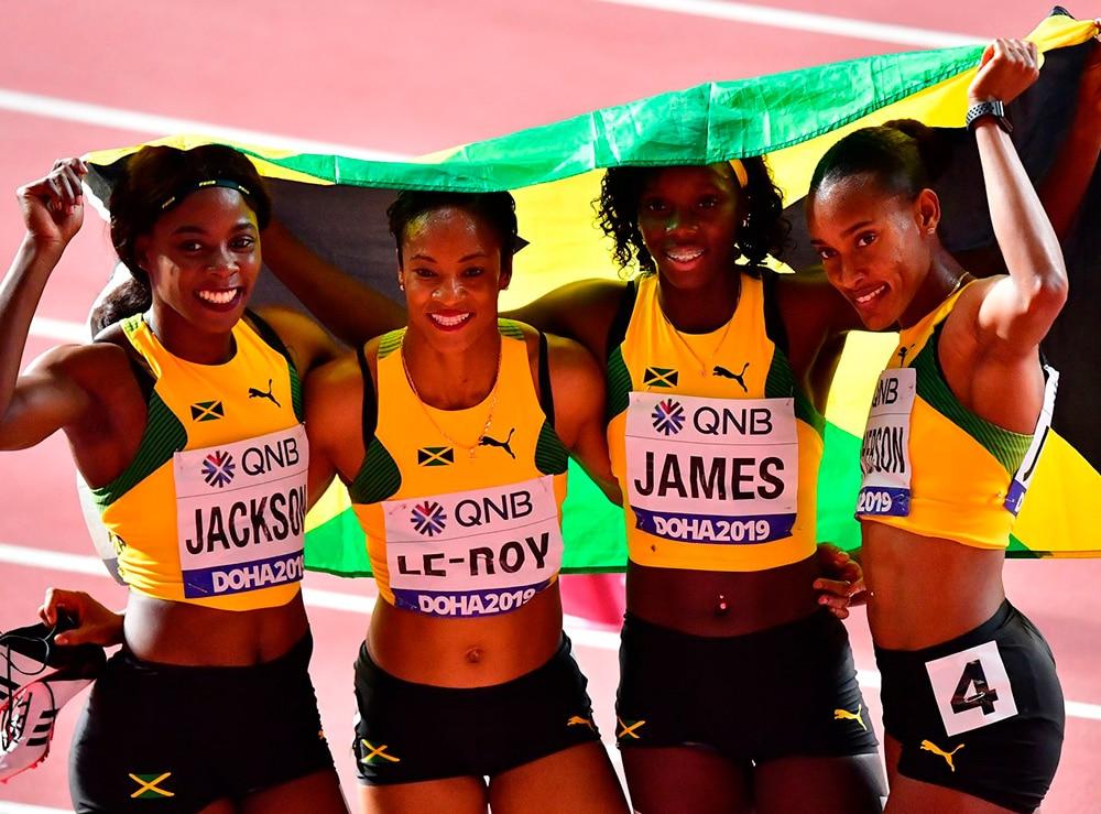 4x400m da Jamaica
