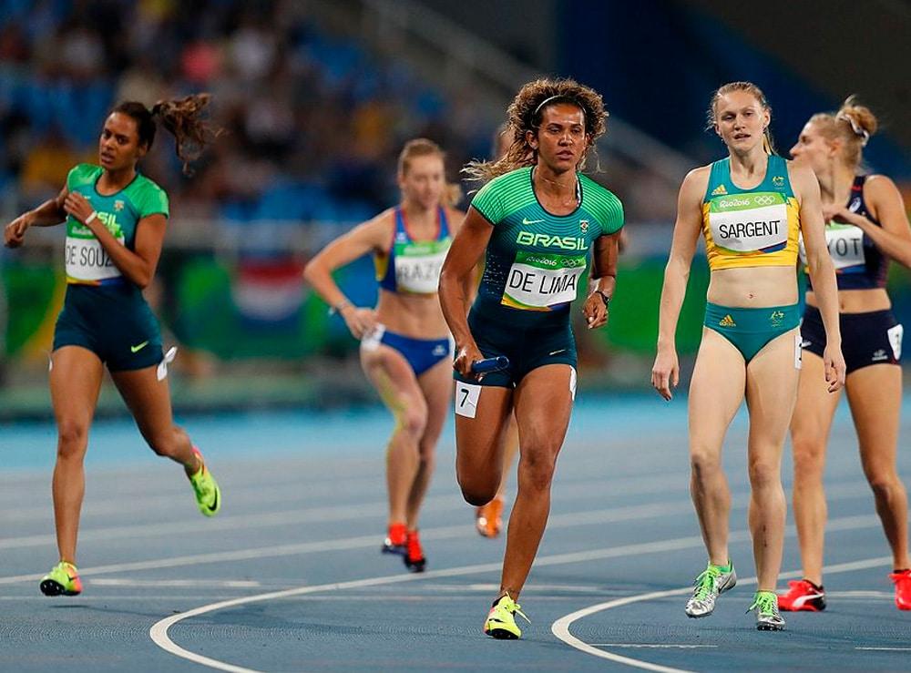 4x400m do Brasil na Rio-2016