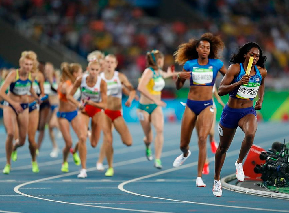 4x400m dos EUA na Rio 2016