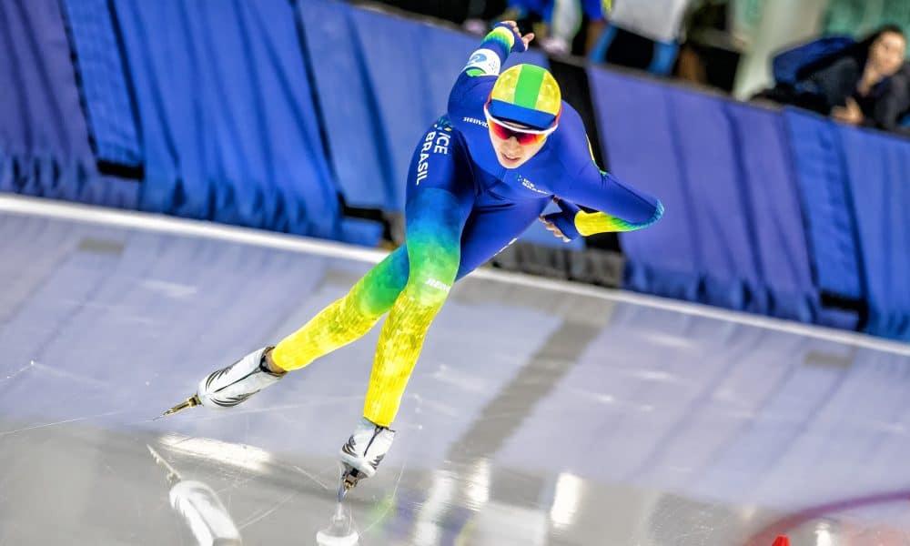 Larissa Paes - Patinação de velocidade no gelo - Pequim 2022 - Jogos Olímpicos de Inverno