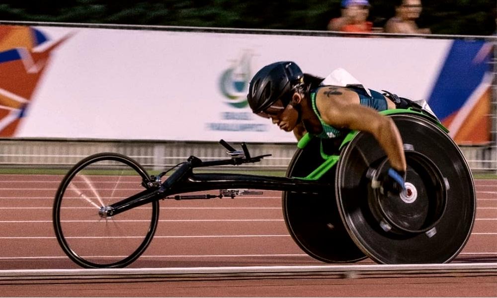 Aline Rocha - Grand Prix de atletismo paralímpico
