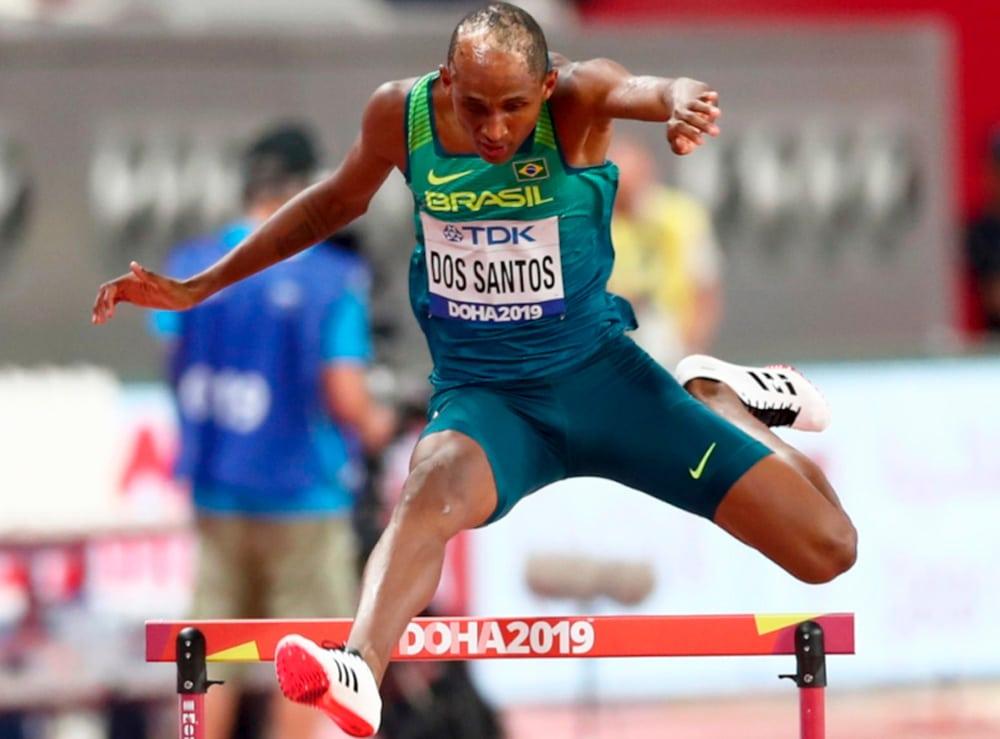 Alison dos Santos atletismo Olimpíada