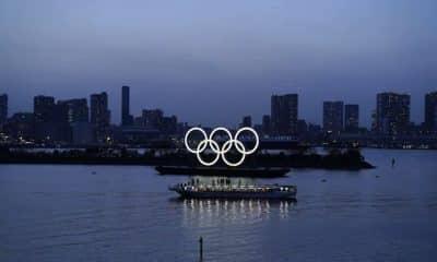 Anéis olímpicos Tóquio