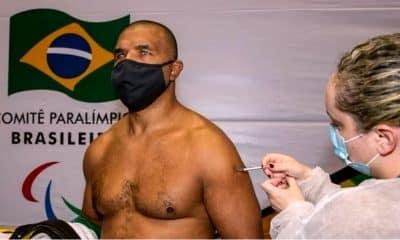 Antônio Tenório - Ana Marcela Cunha - Vacinação - Tóquio-2020