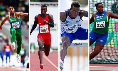 Atlétismo- Brasileiros conquistam cinco ouros nos Estados Unidos