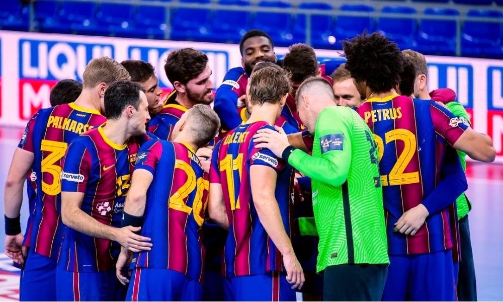 Barcelona - Brest - Thiagus Petrus - Champions League de handbol
