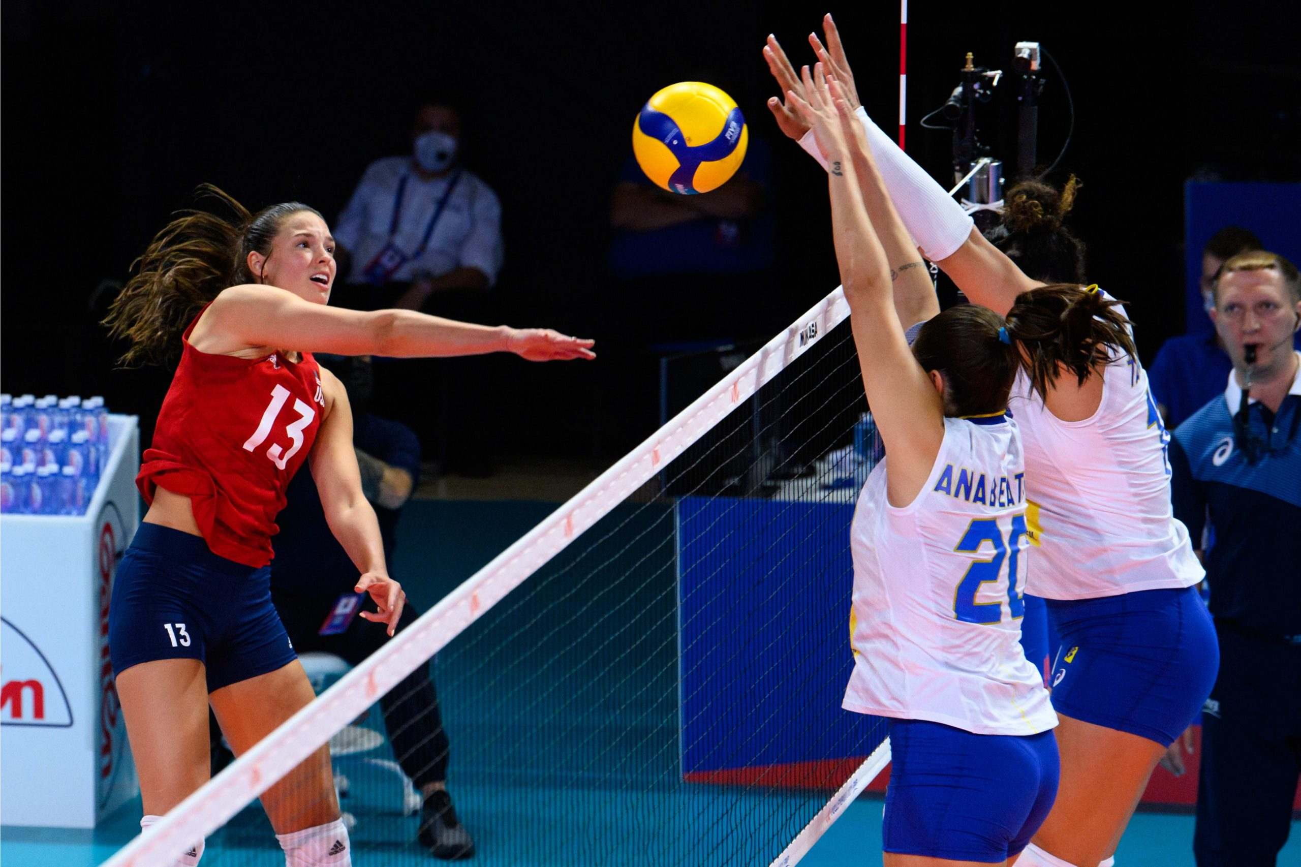 Brasil x Estados Unidos - Liga das Nações