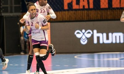 Bruna de Paula Siofok x Nantes final da liga europeia de handebol feminino