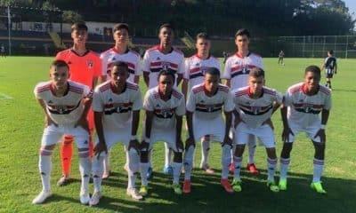 Campeonato Brasileiro Sub-17 Botafogo 0 x 4 São Paulo