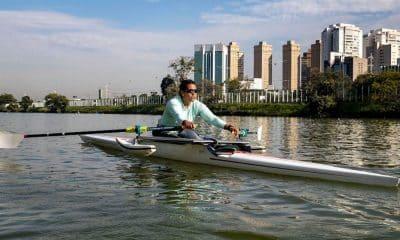 Cláudia Santos remo paralímpico Regata de Gavirate, entre os dias 3 e 5 de junho Paralimpíada