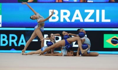 Conjunto Brasil Copa do Mundo de ginástica rítmica Baku