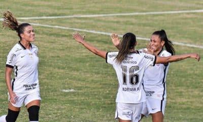 Corinthians x Flamengo Brasileiro de futebol feminino