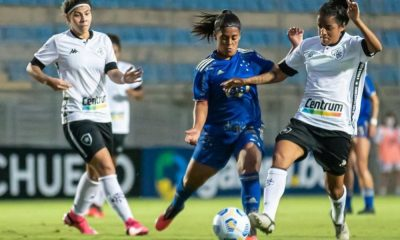 Cruzeiro x Botafogo Campeonato Brasileiro de futebol feminino