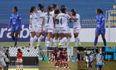 Vitórias de visitantes marcam a rodada do Brasileiro feminino