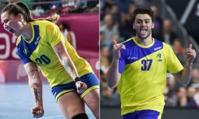 Brasil convoca seleções de handebol masculino e feminino visando Tóquio