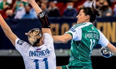 Duda Amorim Champions League de handebol feminino