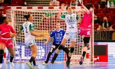 Duda Amorim - Gyori - Champions League de handebol feminino