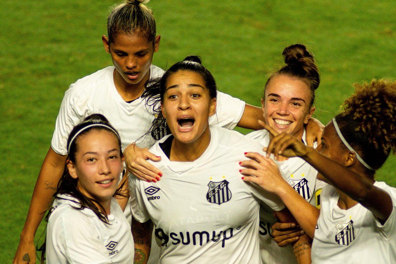 santos corinthians brasileirão feminino futebol