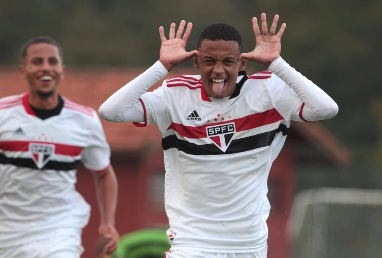 Botafogo x São Paulo Brasileiro sub-17
