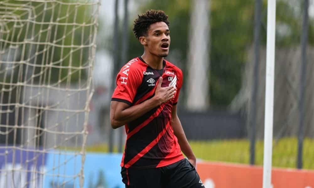 Emersonn Atlhetico x Santos Campeonato Brasileiro Sub-17