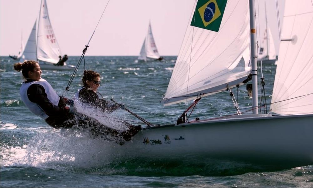Fernanda Oliveira e Ana Barbachan - Campeonato Europeu de 470 - Henrique Haddad - Bruno Bethlem