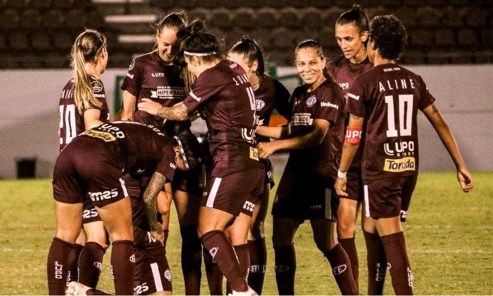Ferroviária  Napoli-SC x - Brasileiro feminino de futebol ao vivo