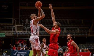 Paulistano e Flamengo - Semifinal do NBB