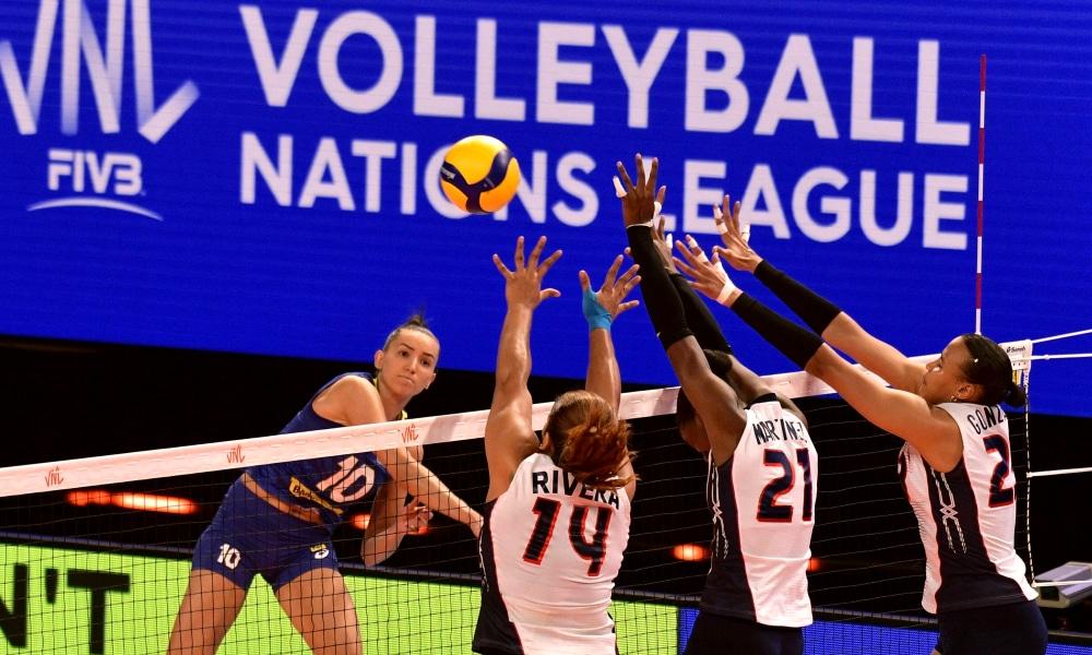 Brasil e República Dominicana - Liga das Nações