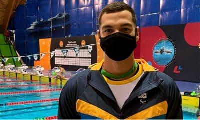 Gabriel Bandeira - Aberto Europeu de natação paralímpica