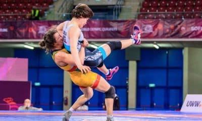 Giullia Penalber Pré-Olímpico de wrestling