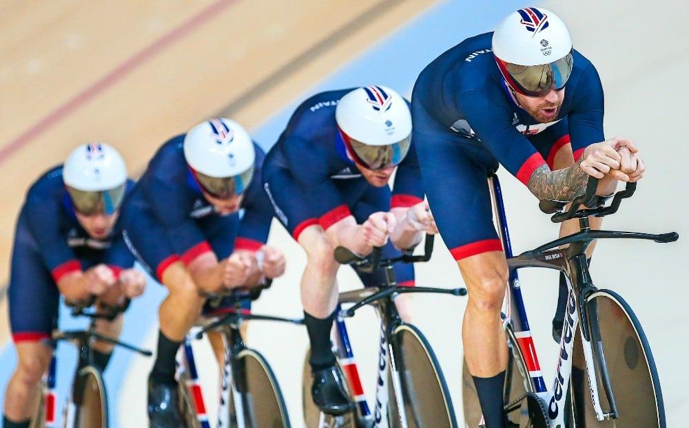 perseguição por equipes masculino Grã-Bretanha