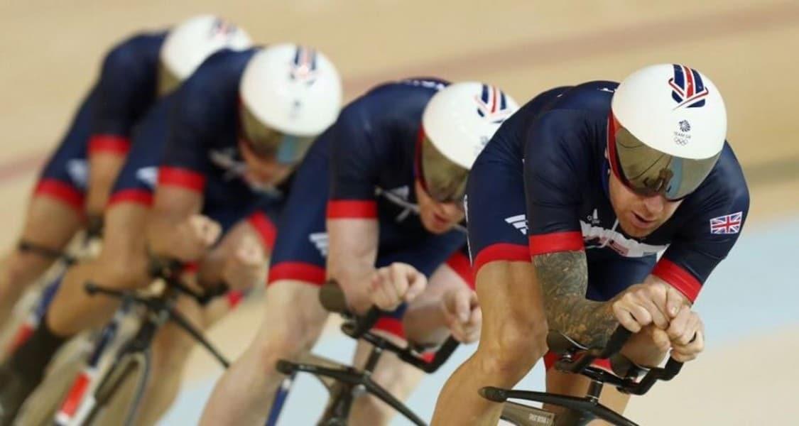 Sprint por equipes masculino Grã-Bretanha