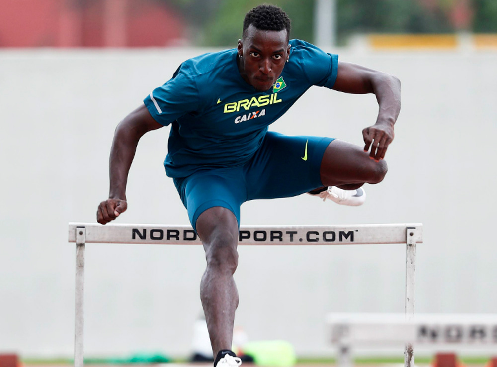 Gabriel Constantino - atletismo - 110m rasos com barreiras masculino
