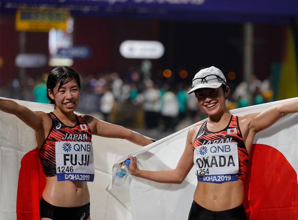 Nanako Fuji e Kumiko Okada