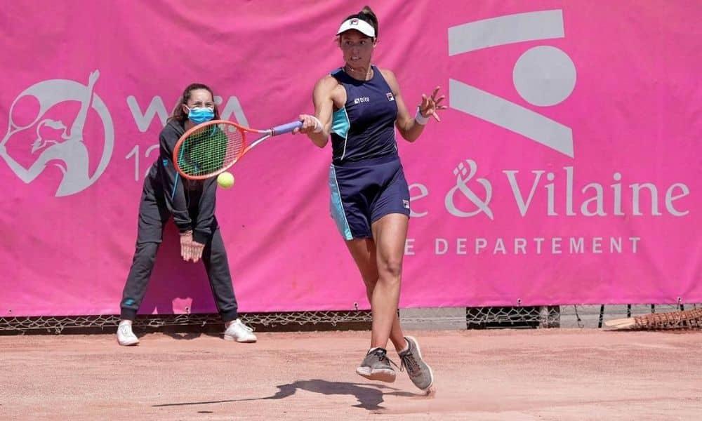 Luisa Stefani WTA de Saint Malo Hayley Carter
