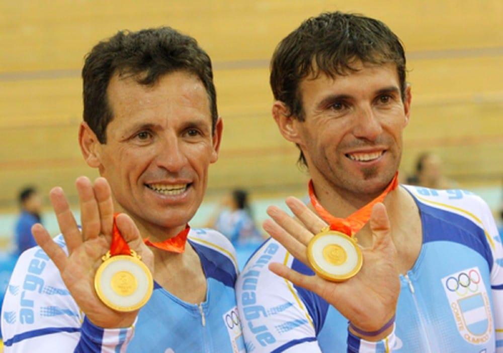 Madison Juan Esteban Curuchet e Walter Pérez
